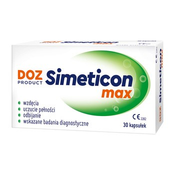 DOZ PRODUCT Simeticon Max, kapsułki, 30 szt.