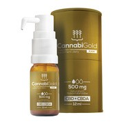 CannabiGold RAW, 500 mg, krople, 12 ml