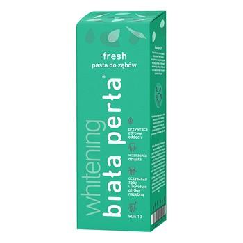 Biała Perła Whitening Fresh, pasta do zębów, świeży oddech, 75 ml