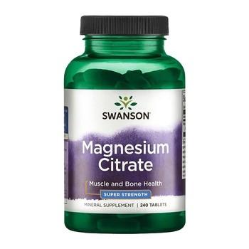 Cytrynian magnezu, tabletki, 240 szt.