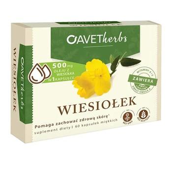 Avet Herbs Wiesiołek, kapsułki miękkie, 60 szt.