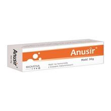 Anusir, maść na hemoroidy z kwasem hialuronowym, 30 g
