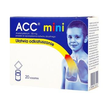 ACC mini, 100 mg, proszek, 20 saszetek