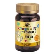 Solgar Kanguwity Witamina C, 100 mg, pastylki do ssania, 90 szt.