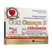 Olimp Gold Omega 3 plus ciśnienie, kapsułki, 30 szt.