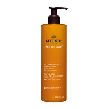 Nuxe Reve de Miel, ultrabogaty żel do mycia twarzy i ciała, 400 ml (z pompką)