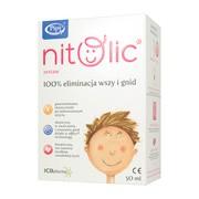 Pipi Nitolic, zestaw przeciw wszawicy,  50 ml