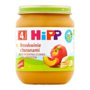 HiPP BIO brzoskwinie z bananami, po 4. miesiącu, 125 g