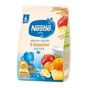 Nestle, kaszka mleczno-ryżowa 5 owoców, 9 m+, 230 g