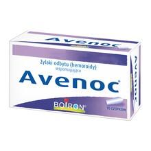 Boiron Avenoc, czopki, 10 szt