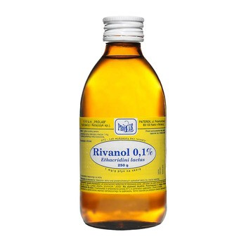 Rivanol (Rivanolum), roztwór 0.1%, 250 g
