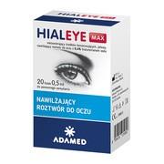 Hialeye Max 0,4% - krople do oczu, 0,5 ml, 20 fiolek