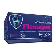 Olimp Flexagen, proszek w saszetkach o smaku malinowym, 12 g, 30 szt.