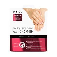L`Biotica, peelingująca maska na dłonie, 36 g (nasączone rękawiczki)
