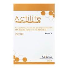 Actilite, opatrunek siatkowy z miodem Manuka, 10 x 20cm, 10 szt.