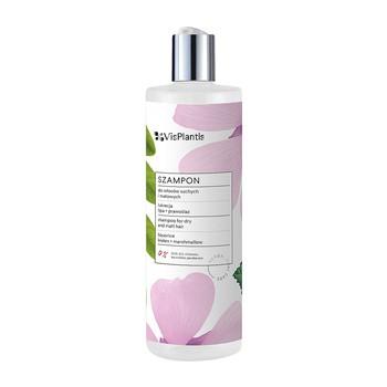 Vis Plantis, szampon do włosów suchych i matowych, lukrecja, lipa, prawoślaz, 400ml