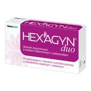 Hexagyn duo, globulki dopochwowe, 10 szt.