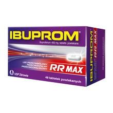 Ibuprom RR Max (Ibuprom RR), 400 mg, tabletki powlekane, 48 szt. (butelka)