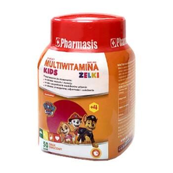 Multiwitamina Kids Żelki Pharmasis, Psi Patrol, 50 szt.