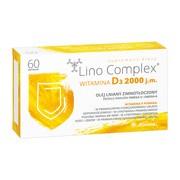 Lino Complex Witamina D3, 2000 j.m, kapsułki, 60 szt.