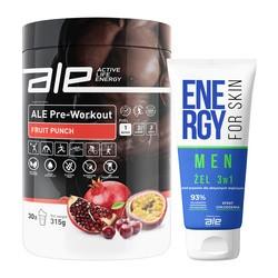 Zestaw ALE Active Life Energy Wokół treningu dla Niego