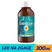 Gaviscon o smaku mięty, zawiesina doustna, 300 ml