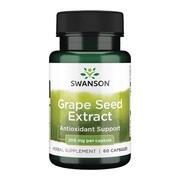 Swanson Grapeseed extract, kapsułki, 60 szt.