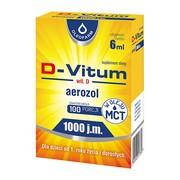 D-Vitum witamina D 1000 j.m., aerozol, 6 ml