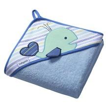 Baby Ono, okrycie kąpielowe frotte, niebieskie, 1szt.