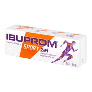 Ibuprom Sport, 50 mg/g, żel, 60 g