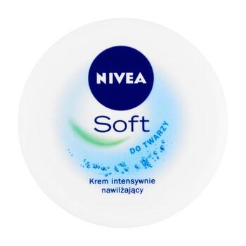 Nivea Soft, krem intensywnie nawilżający, 50 ml