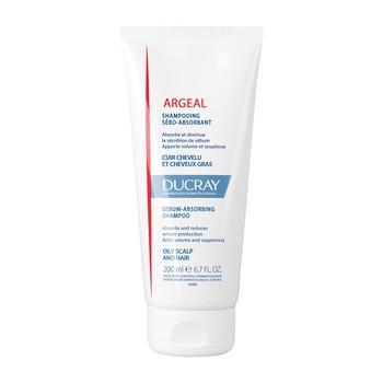Ducray Argeal, szampon absorbujący sebum, skóra głowy i włosy przetłuszczające się, 200 ml