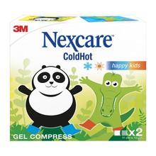 Nexcare ColdHot HappyKids, okłady żelowe ciepło-zimno, 2 szt.