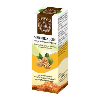 Vernikabon, syrop ziołowo-miodowy, 100 ml (130 g)