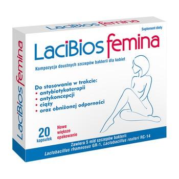 Lacibios Femina, kapsułki, 20 szt.