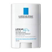 La Roche-Posay Lipikar Stick AP+, sztyft przeciw podrażnieniom, 15 ml