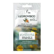 Uzdrovisco Rokitnik, roślinna maska nawilżająca i redukująca pory skóry, 2 x 5 ml