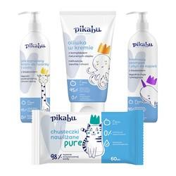 Mój pierwszy zestaw pielęgnacyjny Pikabu (szampon + krem + oliwka + chusteczki)