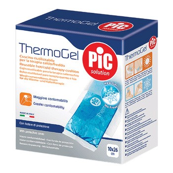 PiC Thermogel, kompres żelowy, zimno-ciepły, 10 x 26 cm, 1 szt.
