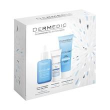 Zestaw Promocyjny Dermedic Hydrain 3, serum nawadniające, 30 ml + kremowy żel do mycia, 25 ml + krem pod oczy, 7 ml