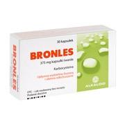 Bronles, 375 mg, kapsułki twarde, 30 szt.