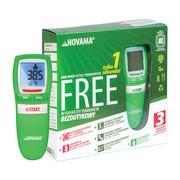 Termometr Novama Free, NT17, bezdotykowy, zielony, 1 szt.