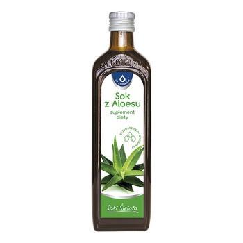 Aloes, sok z aloesu 100%, 500 ml (Oleofarm)