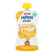 HiPP HiPPiS BIO Sport, mus banany, gruszki, pomarańcze, mango z ryżem, po 1. roku życia, 120 g