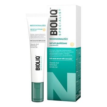 Bioliq Specialist Niedoskonałości, serum punktowe z korektorem, 10 ml