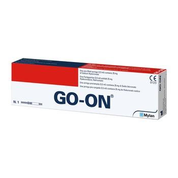 GO-ON, 25 mg/2,5 ml, roztwór do wstrzykiwań, 1 ampułko-strzykawka
