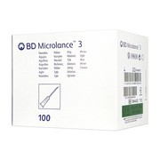 BD Microlance 3, igła,j.u., (0,8 x 40 mm), 100 szt.