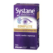 Systane Complete, nawilżające krople do oczu, 10 ml