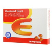 Vitaminum E Hasco, 100 mg, kapsułki miękkie, 30 szt.