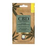Bielenda Cannabidiol, maseczka nawilżająco-detoksykująca z CBD, cera mieszana i tłusta, 8 g